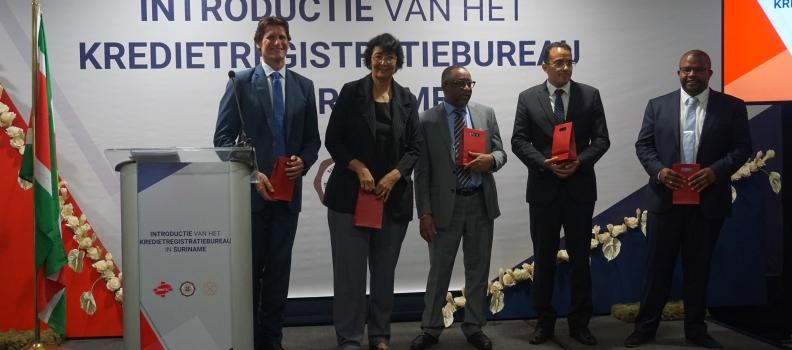Suriname krijgt kredietregistratiebureau